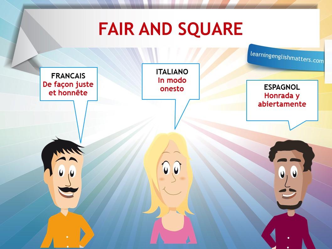 Easi Expressions Fair & Square